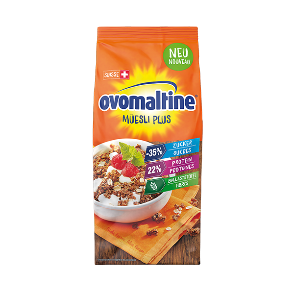 Ovomaltine Müesli plus