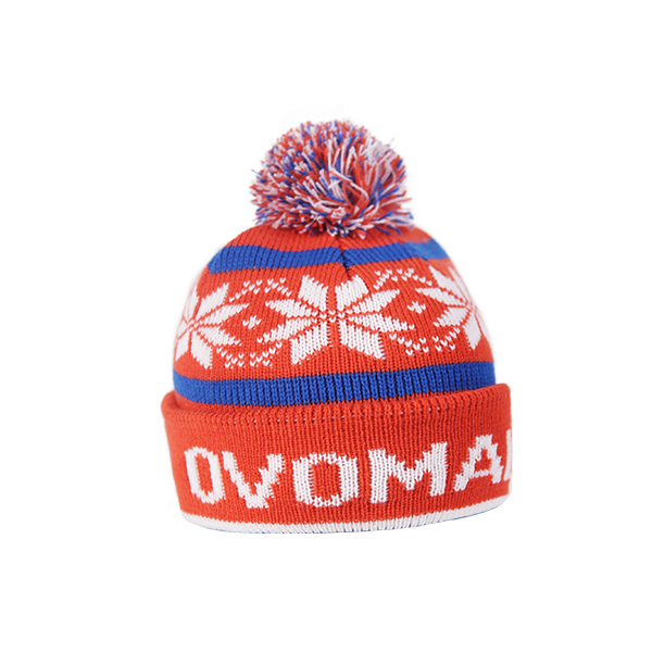 Ovomaltine Wintermütze designed by Alprausch