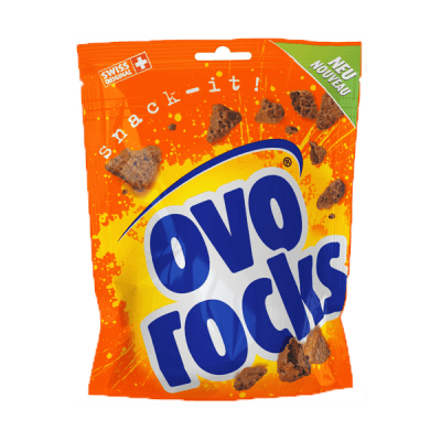 Ovo Rocks – rochers au chocolat – Ovomaltine